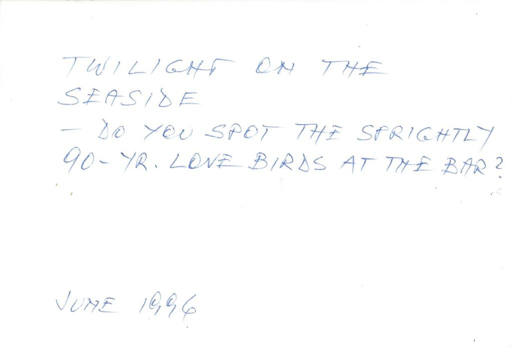 June 1996 Picture 2 guest's comment at the back