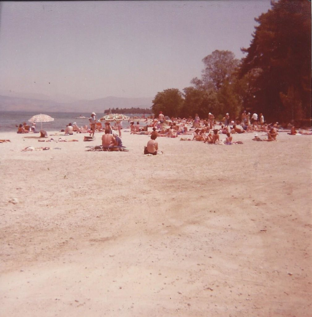 Summer 1984 Gouvia beach