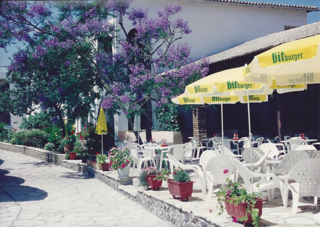 Summer 1992 Iliada Beach Bar Restaurant 1