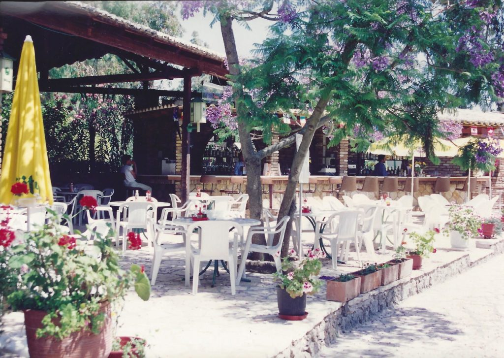 Summer 1992 Iliada Beach Bar Restaurant 2